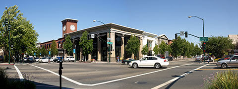 Broadway Pointe, today, Main St. and Mt. Diablo Blvd.