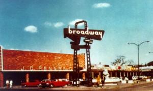 Broadway Plaza around 1951