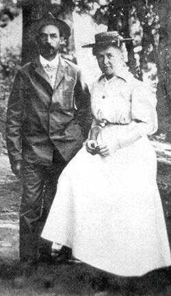 Claude and Eva Leech