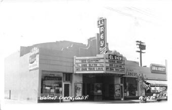 El Rey Theatre (Main Street near Civic Drive) – 1937
