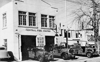 Central Fire Protection District Station (Bonanza Street) – 1926