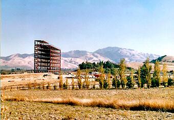 John Muir Memorial Hospital – 1960s under construction