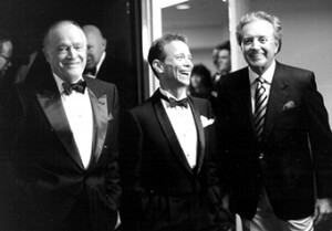 Bob Hope, Joel Grey, and Vic Damone
