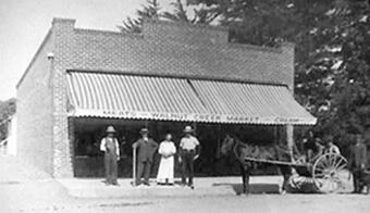 Walnut Creek Meat Market (Main St. at Bonanza) – 1910