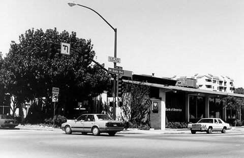 Old Bank of America building, 1995, Main St. and Mt. Diablo Blvd