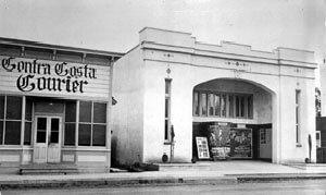 Ramona Theatre on Main Street circa 1920s