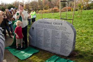 Centennial Grove Dedication 2014