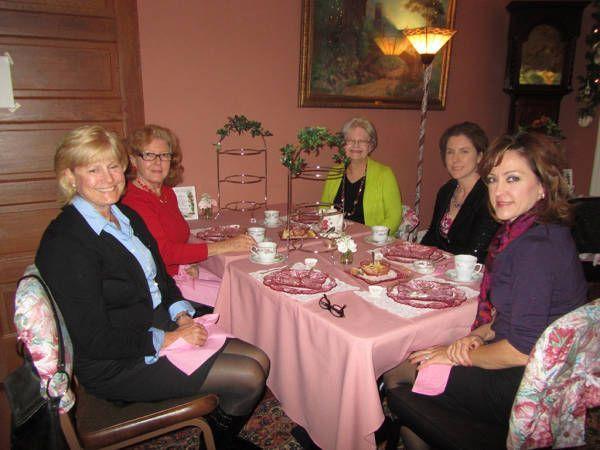 Victorian holiday teas Walnut Creek Historical Society